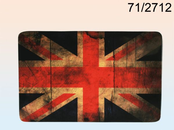 Melamine Breakfast<br> Board, vintage<br>look, Union Jack