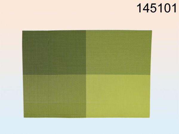 PVC-Tischset grün,<br>ca. 45 x 30 cm