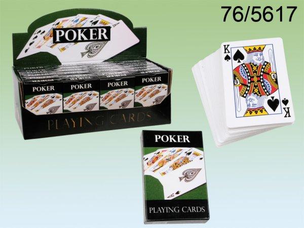Kártyázás<br> kartonból, Poker,<br>54 kártya