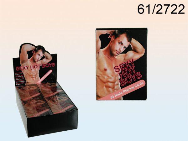 Kártya, Sexy Boys<br> II, 52 lapot<br>laponként,