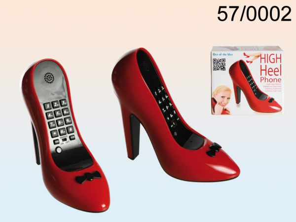Telefon, Red Shoe,<br>ca. 17 x 14 cm
