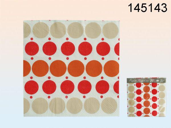 Papier-Servietten<br> ca. 33 x 33 cm,<br>3-lagig