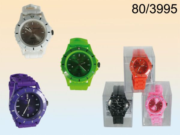 Silicone<br>Wristwatch Colours I