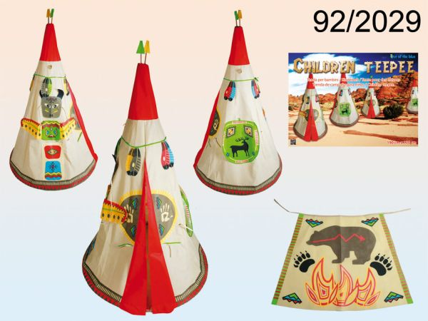 Children tent,<br> teepee, approx 190<br>x 130 cm