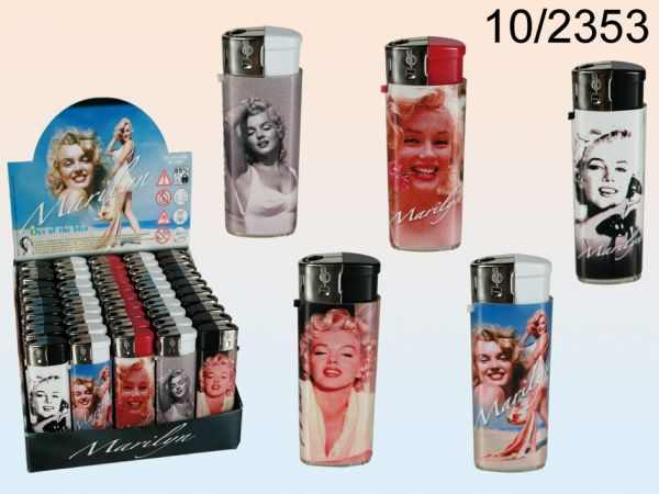 Mini electric<br> lighter, Marilyn<br>Monroe