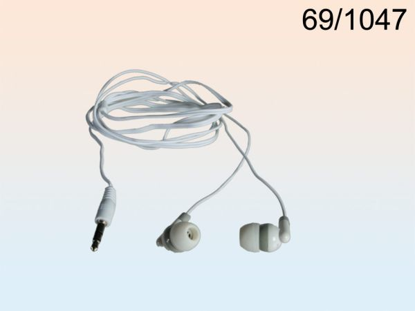 IN EAR Headphones<br>with 1.20 m cable,