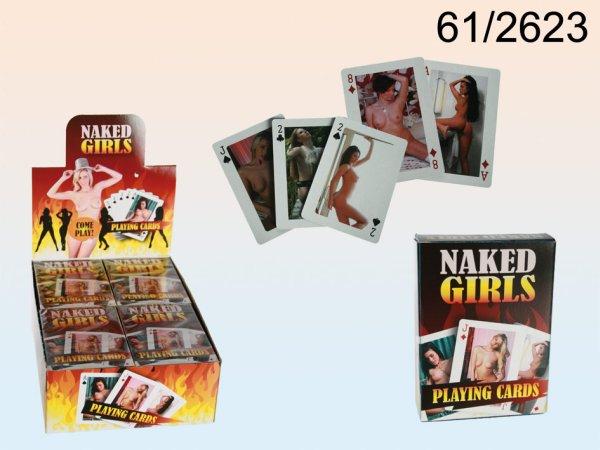 Kártyázás, Hot<br> Girls, 54 kártya<br>laponként,