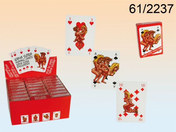Playing Cards,<br> Kamasutra Comic,<br>54 cards per sheet