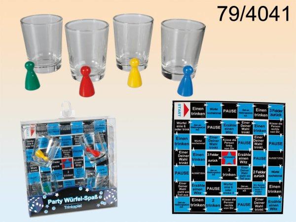 Alkoholfogyasztás<br> kocka játék 4<br>pohár &amp; Field