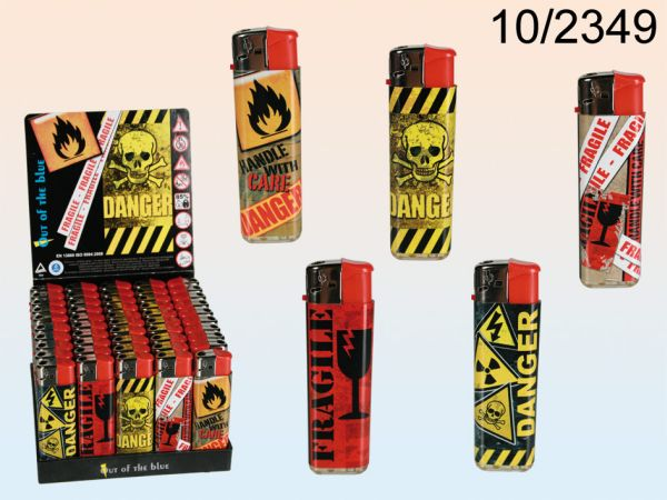 Electric lighter,<br>Danger,
