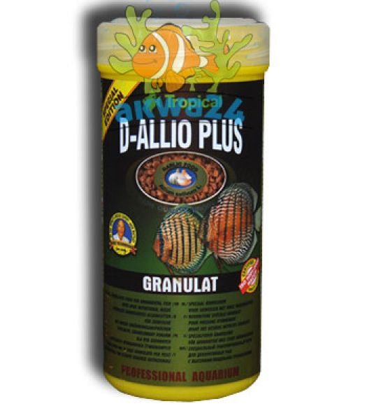 Food Aquarium Tropical D-Allio Plus Granules