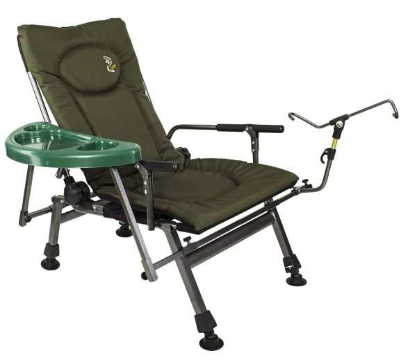 Fishing seat with<br> adjustable<br>backrest F5-RSTP