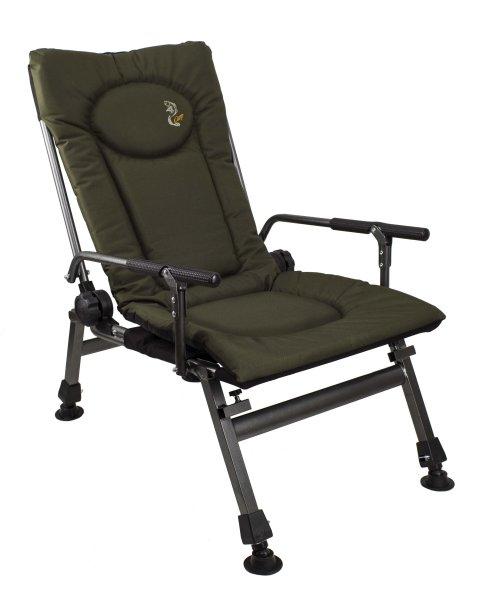Angeln Sitz mit<br> verstellbarer<br>Rückenlehne F5-R