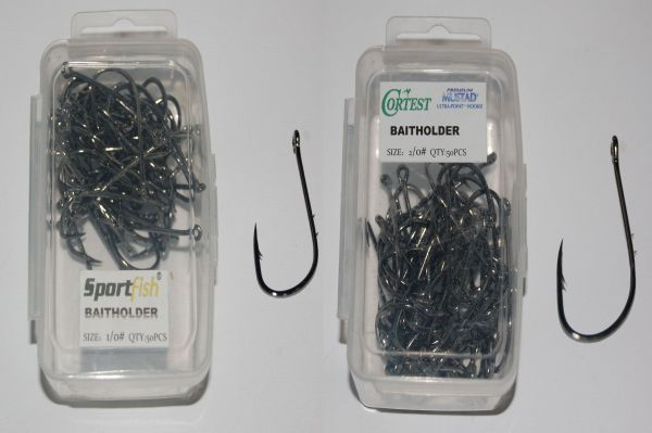 eel-hook walleye 50pcs