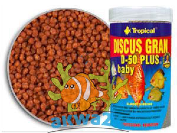 PokarmTropical<br> Aquarium Discus<br>Gran D-50 Plus Baby