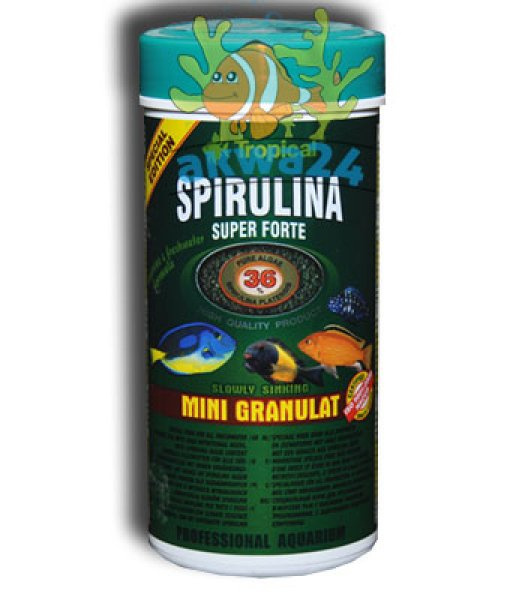 Aquarium Tropical<br> Super Spirulina<br>Mini Granules