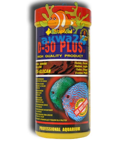 Food Aquarium<br> Tropical D-50 Plus<br>300ml/55g