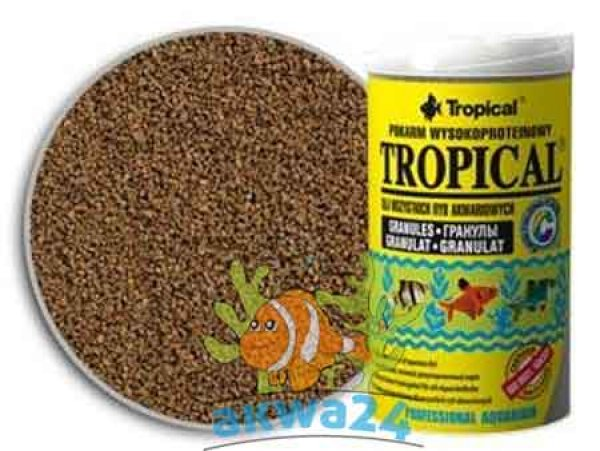 Tropical Aquarium<br> Tropical food<br>pellets 100ml
