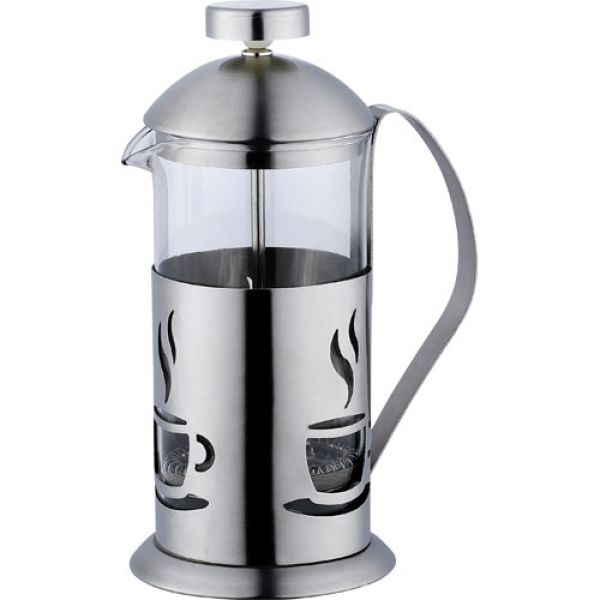 Kaffee- und<br> Teezubereiter<br>800ml Edelstahl