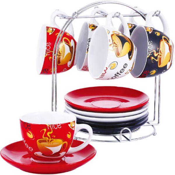 Tea set with stand 13tlg