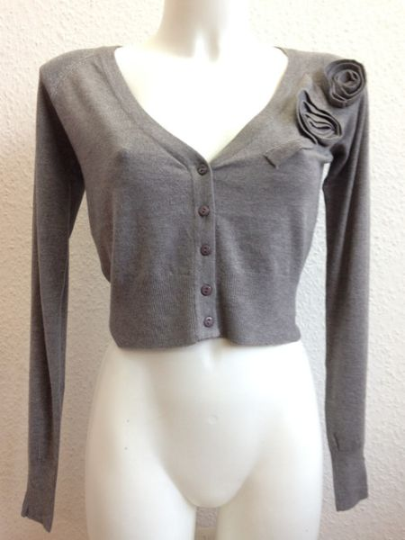 YOUNG LADY LADIES<br> BOLERO CARDIGAN<br>KNIT JACKET