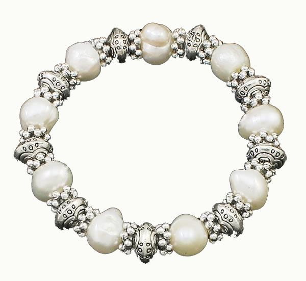 Freshwater Pearl<br> Bracelet Persian<br>Queen