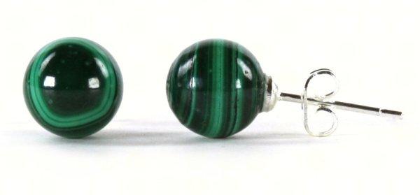 Malachite Gemstone<br>earring Eye
