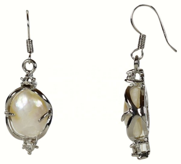 Freshwater pearl<br>earring Willy