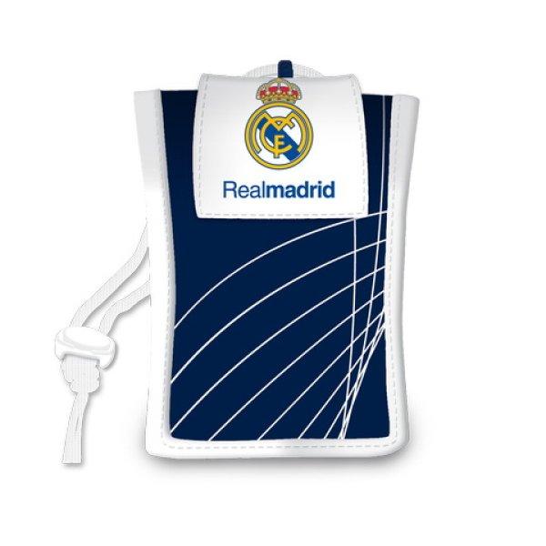 Real Madryt<br> wisiorek wzór<br>niebieski torebka