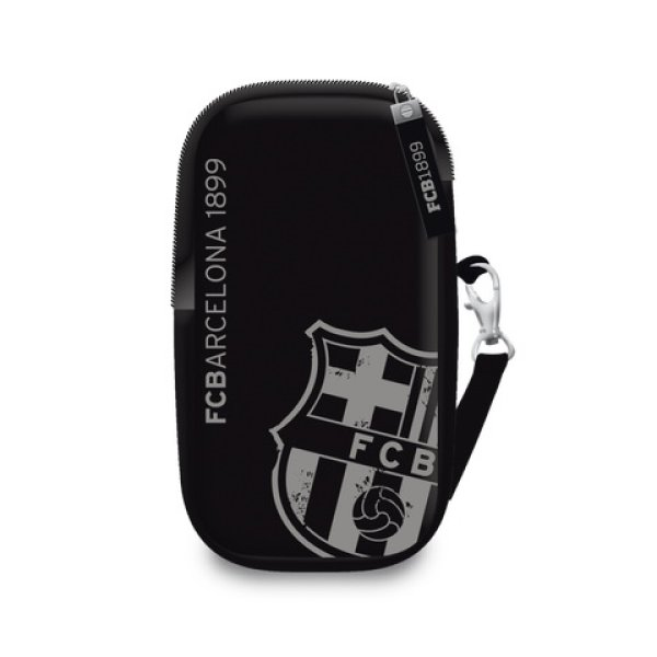 Barcelona mobile<br> phone case black<br>design