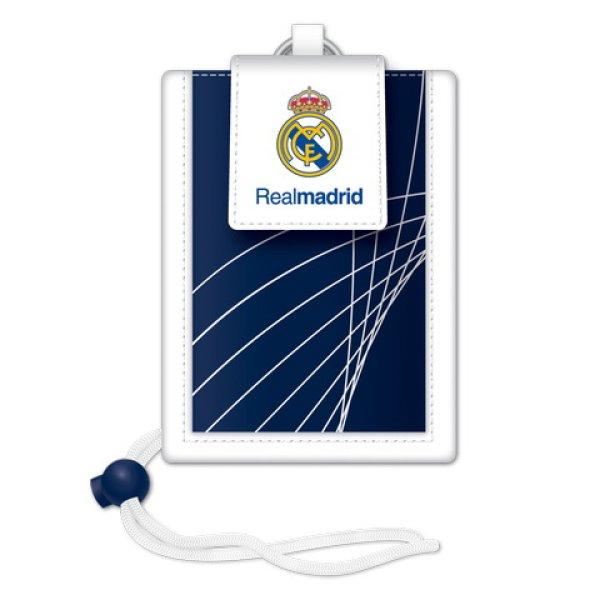 Real Madryt<br> akaszthatós szyi<br>portfel niebieski