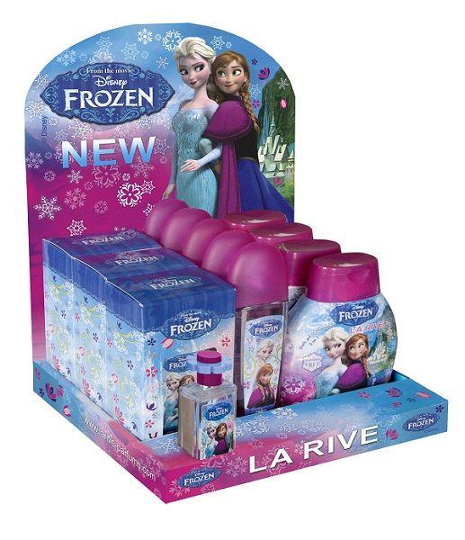 Package Disney<br> frozen eau de<br>toilette, deo, gel