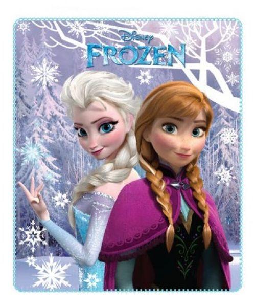 Decke Plaid<br> Prinzessin frozen<br>Frozen 120x140
