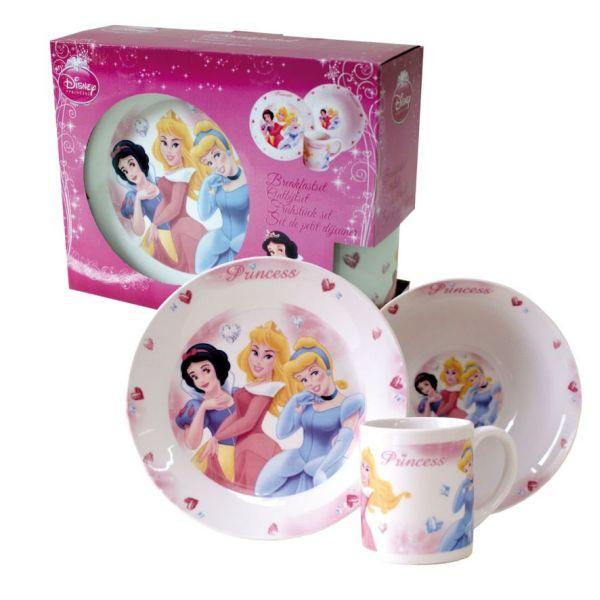 China<br> Frühstücks-Set 3<br>Elemente Princess