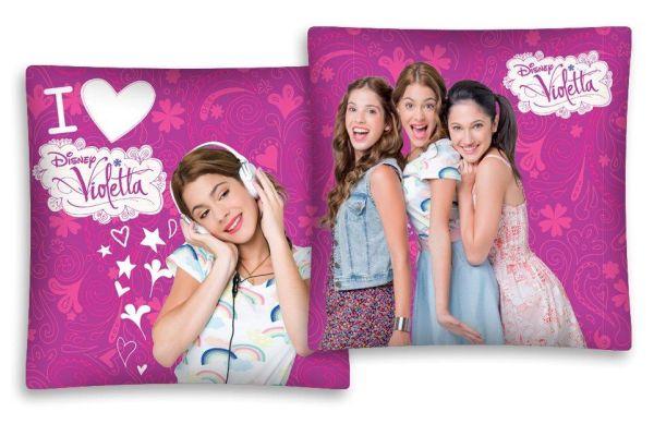 Párnahuzat, Disney<br>Violetta 01 40/40 D