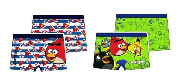 SWIMMING SHORTS<br> SHORTS Angry Birds<br>4-10 YEARS