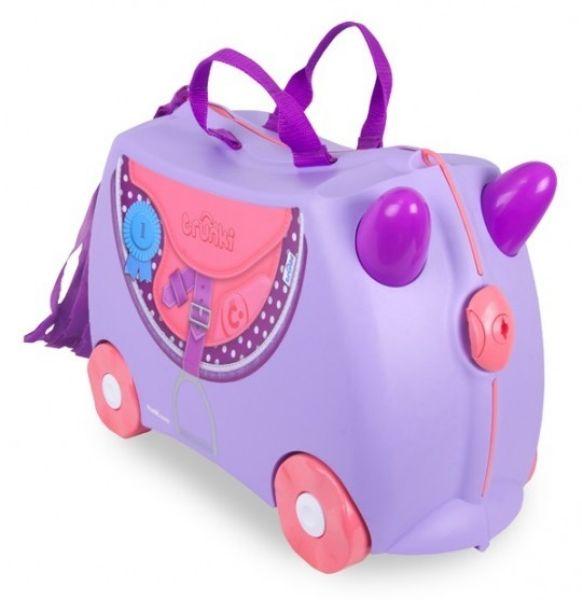 TRU-0185 N / 4/15<br> Reiten ein Koffer<br>für ein Kind
