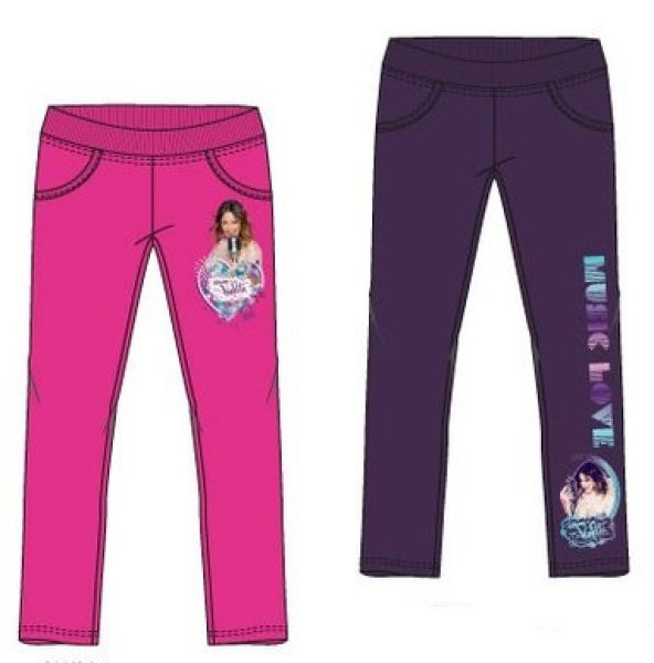 PANTS Disney<br> Violetta 6-12<br>YEARS 2 COLOURS
