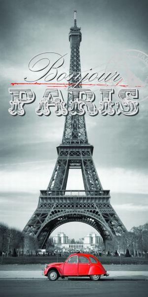 serviette BAIN<br> 140x70 Paris, Tour<br>Eiffel