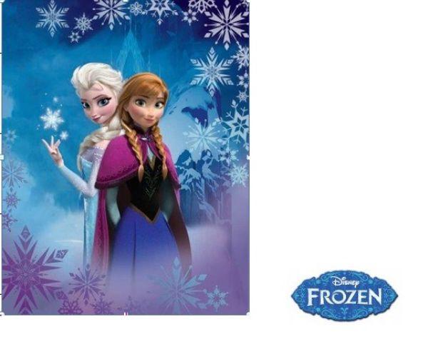Disney Fleece<br> Blanket 140x110 la<br>frozen