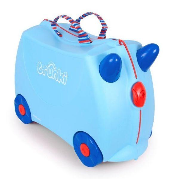 TRU-0166 reitet<br> einen Koffer für<br>ein Kind