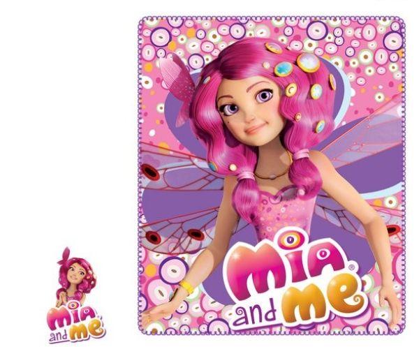 Decke Polarfleece<br>Mia &amp; Me