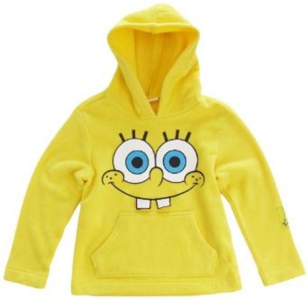 Sponge Bob<br> Fleece-Sweatshirt<br> Spongebob Schwamm ...
