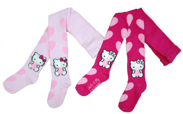 Tights Hello Kitty<br>92-122 2 colors