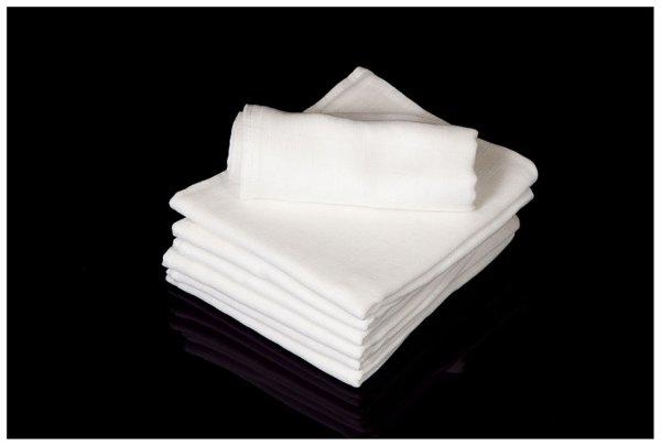 Windel 70x80 weiße<br>Baumwolle Tetra
