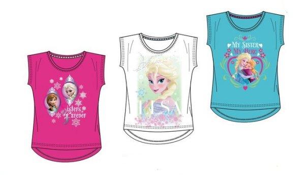 T-Shirt T-Shirt<br> frozen Gefrorene<br>4-8lat Frozen