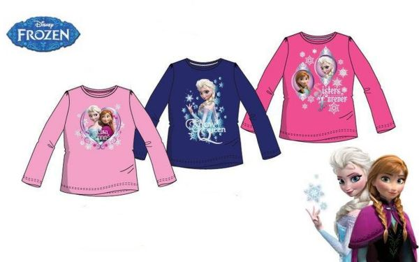 Blouse with long<br> sleeves frozen<br>1450-1 Disney