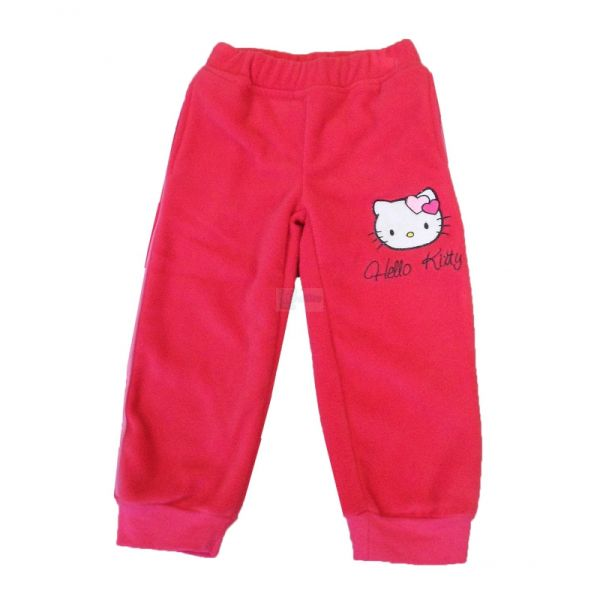 Fleece tracksuit<br> pants Hello Kitty<br>- 6 pieces