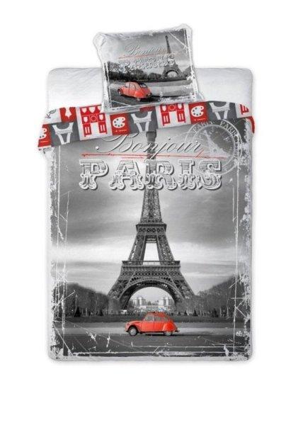 Linge de maison<br> coton 160x200 Tour<br>Eiffel