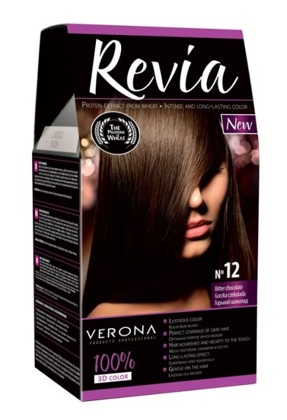 12 Bitter<br> chocolate HAIR<br>COLOR  Revie